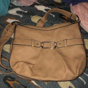 Handbags - women's tans shoulder purse